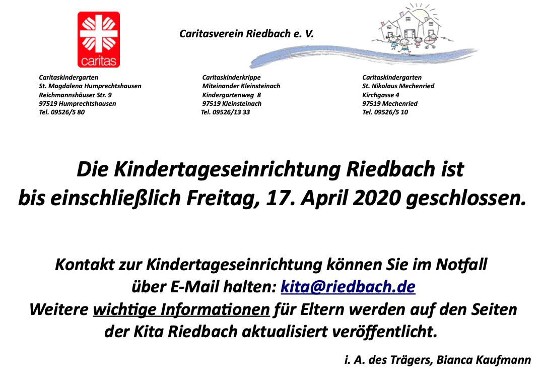 aktuelles gemeinde riedbach